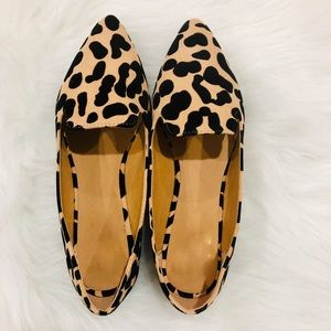 Shoes - 5⭐️TAN LEOPARD Slip-On pointed toe ballet flats
